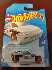 Hot Wheels 2020 25TH Super Treasure Hunt '88 Honda CR-X White HW Honda #5/5 NEW