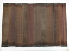"""(10) Lot of 10 GUITAR LUTHIER ROSEWOOD FINGERBOARD BLANK  21"""" X 2-3/4"""" X 0.35"""""""