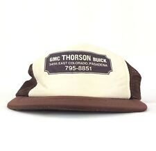 Vtg GMC Thorson Buick Pasadena California Trucker Hat Snapback Small Adult