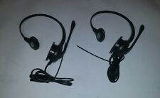 Lot of 2 Plantronics Headset 10-07H25NT