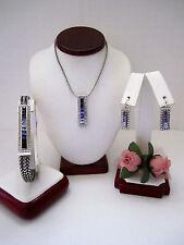 "Brighton ""SPECTRUM NOBLE""  Necklace-Earring-Bracelet Set (MSR$198) NWT/Pouch"
