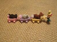 Vintage Polly Pocket Bluebird 1993 Li'l Pet Carts Pet Parade Cat Dog Complete J1
