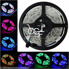 5M RGB 3528 WATERPROOF 300 LED STRIP + 24 KEYIR REMOTE CONTROLLER + POWER SUPPYL