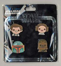 Star Wars Celebration Europe 2016 Emoji Original Trilogy Han, Leia, Fett, Chewie