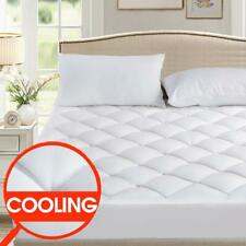 SOPAT King Mattress Ultra Plush Pillow Top Reversible Fitted Quilted Pad
