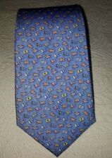 Vineyard Vines blue nautical flags men's tie