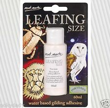 Mont Marte MAXX0024 Leafing Size non toxic Water Based Gilding Adhesive 60ml