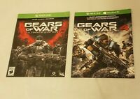Gears of War: Ultimate Edition and Gears of War 4 digital copies.