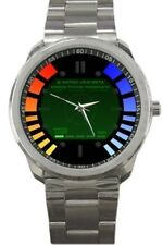 GoldenEye 007 James Bond Wristwatch Custom N64 Watch Stainless Steel Video Game