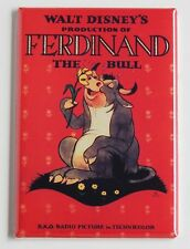 Ferdinand the Bull FRIDGE MAGNET (2 x 3 inches) movie poster