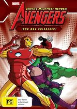 Marvel - The Avengers Iron Man Unleashed! (DVD, 2012)