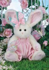 """14"""" Fluffy & Flutter*Bearington Stuffed Bunny*New*Nwt*Butterfly*E aster*420216"""