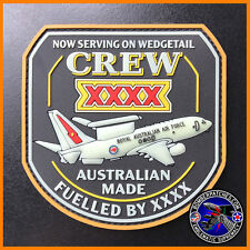 E-7A WEDGETAIL CREW XXXX PVC PATCH, ROYAL AUSTRALIAN AIR FORCE, Glow in the Dark