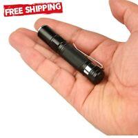 Mini Portable Torch Led Clip Small Pen Flashlight Penlight Lamp Pocket Light New