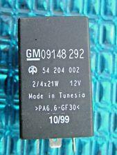 VAUXHALL Flasher Unit Indicator Relay Bosch 09148292