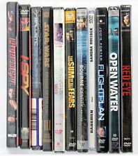Red Eye, Open Water, Flightplan, Hangmen, Bourne Identity, Sum of All Fears, DVD