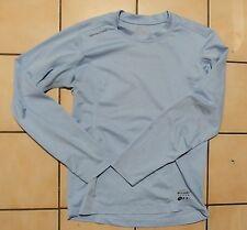 T-Shirt manches longues Décathlon. Bleu ciel. Taille S