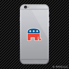 Republican Elephant Cell Phone Sticker Mobile republic political