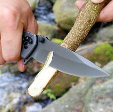 Tactical Folding fishing hunts Pocket Titanium Coating Blade Outdoor EDC Knife