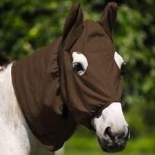 Equi Theme New Soft Equestrian Horse Pony Yard Field Summer Knit Fly Mask Hood