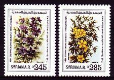 Syrien Syria 1984 ** Mi.1590/91 Blumen Flowers Blüten Blossoms Damaskus