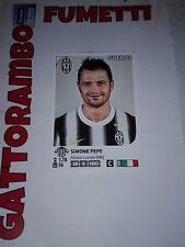 Figurine Calciatori N.232 Pepe Juventus Magazzino - Anno 2011-2012 Panini