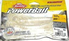 """Berkley Powerbait 5"""" Bearded Grass Pig(Pearl White-6/pack)"""