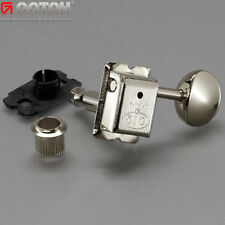 Gotoh SDS510-05M 6-In-Line Vintage Style Tuners Keys w/ CARD Protectors - NICKEL