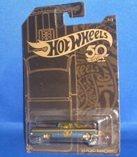 Mattel Frn33 Hot Wheels 50th Anniversary Veicolo Tematizzato Black & G (2235134)