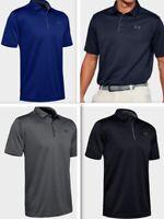 Under Armour Mens UA Tech Polo HeatGear Loose Polo 1290140 - Choose Color & Size
