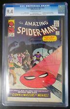 The Amazing Spider-Man #22 CGC 9.4 Marvel Comic 1st Appearance Princess Python