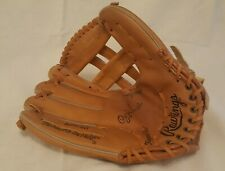 """Rawlings Leather Baseball Glove RGB50 with """"deep well"""" - left handed"""