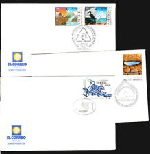 2004 URUGUAY 3 FDC cover Water Desertification nature conservation environment