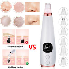 New Upgrade Electric Facial Pore Blackhead Cleaner Remover Vacuum Acne Cleanser