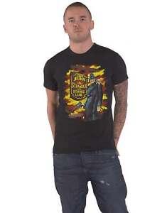 Iron Maiden T Shirt Stranger In A Strange Land Tour new Official Mens Black