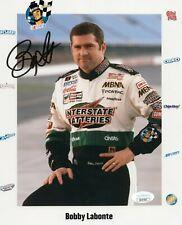 BOBBY LABONTE SIGNED 8X10 PHOTO AUTO AUTOGRAPH JSA COA NASCAR RACING INTERSTATE