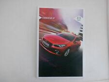 Mazda 3 range brochure Nov 2014