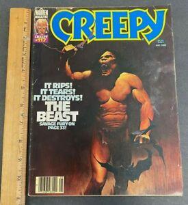VINTAGE MAY 1980 CREEPY #117 A WARREN MAGAZINE *THE BEAST* 61821