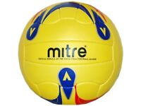 Mitre Pro 100 RF Fluo Fußball Trainings Fussball Ball Sport Gr.5 Training Ball