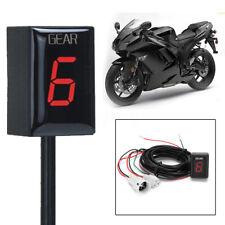 1-6 Speed Gear Display Indicator For Suzuki GSF1250 GSX1400 GSX-R600 GSX-R750 U