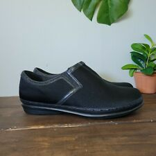 Berries By Aetrex Black Slip-on Comfort Shoes Women's Size 13 W