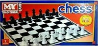 MY Traditional Games Chess Classic Family Fun Games 2 Players New