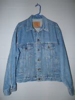Vintage Levi's Denim Jean Jacket~70507-4890~SZ M Medium~Red Tab~USA~EXCELLENT!