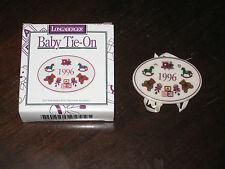 1996 Longaberger Pottery Baby Basket Tie On Nib New Usa made