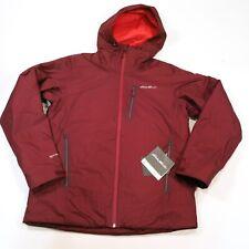 $499 Eddie Bauer Men's BC Evertherm Jacket Medium Maroon NWT