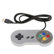 New Classic SNES SFC Style USB Gamepad Controller for PC or MAC