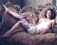 HOT SEXY MARION COTILLARD SIGNED 8X10 PHOTO AUTHENTIC AUTOGRAPH COA A