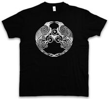 HUGIN AND MUNIN II T-SHIRT - Odhin Odin Ravens German God Walhalla Thor