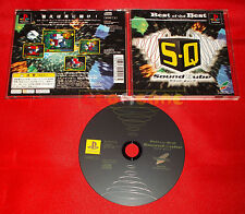 BEST OF THE BEST SOUND QUBE Ps1 SQ Japan Version ○ USATO - C6