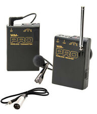 Pro AG AF100A WLM XLR M wireless lavalier mic for Panasonic HMC150 HPX250 HPX170